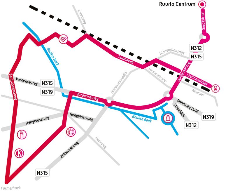 Route van het Liefdespad